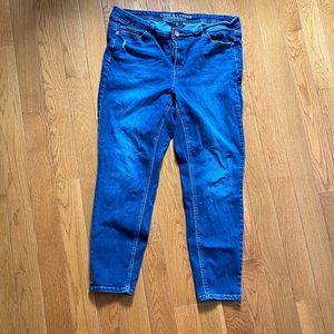 LOVE & LEGEND distressed skinny jeans